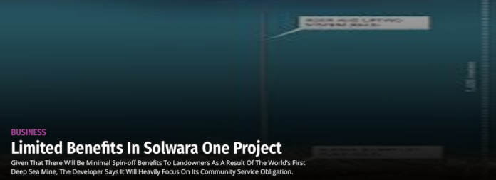 Solwara One Project