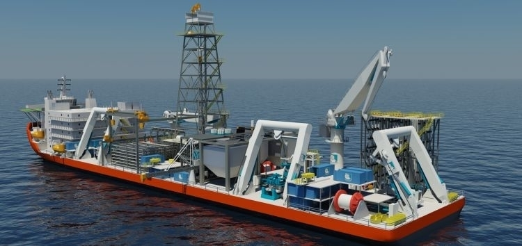 seabed mining ship