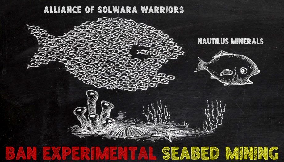 Sea Bed Mining is an invasion of indigenous livelihoods
