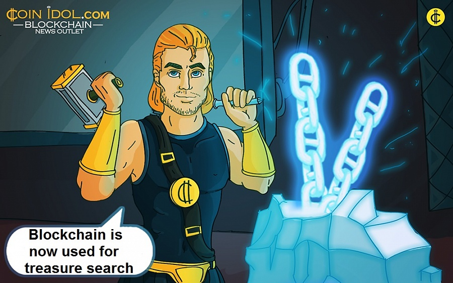 Blockchain-Based Treasure Search and Deep-Water Exploration