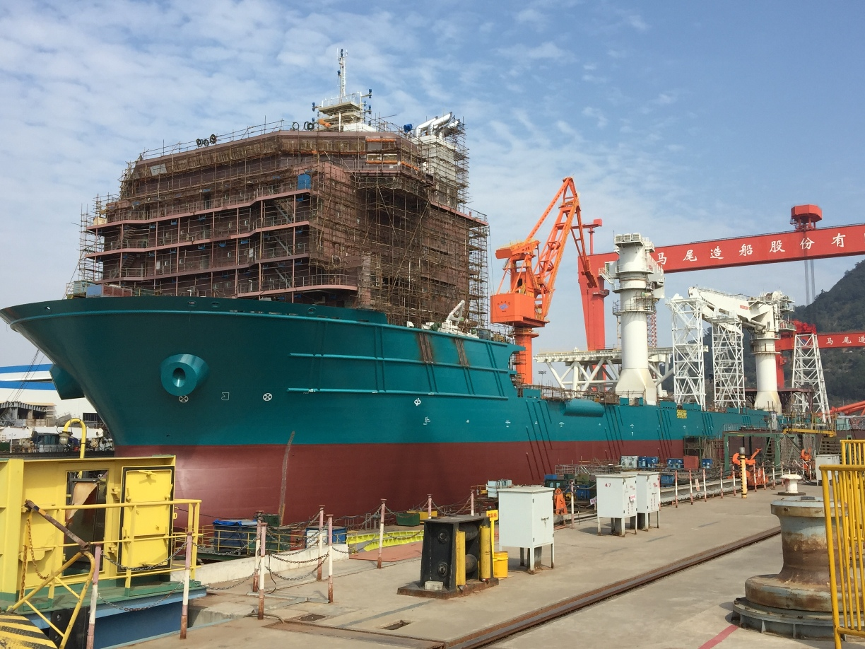 Nautilus vessel construction surpasses 75% Big Month at Nautilus