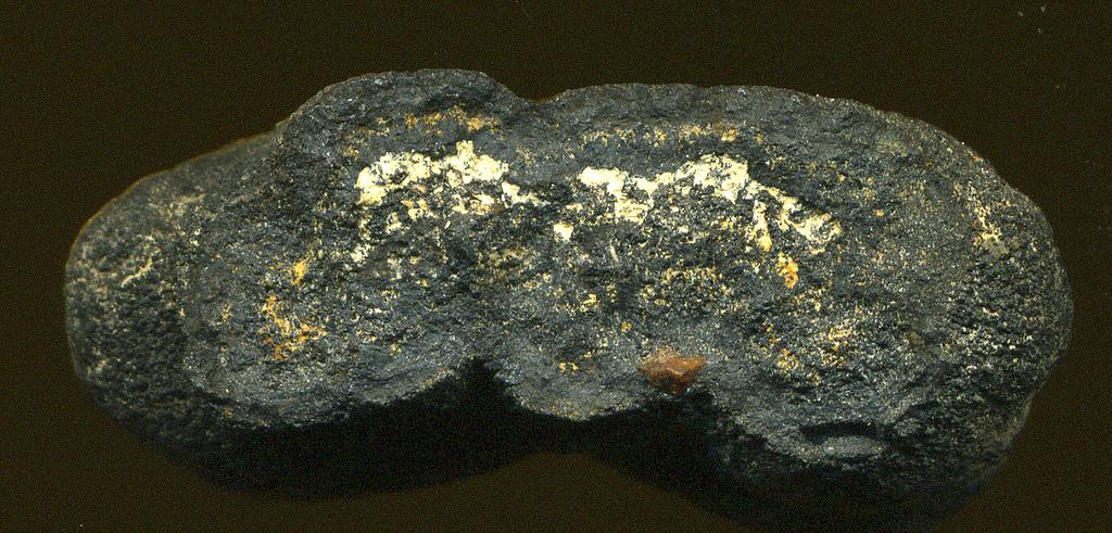 Pelagite (deep seafloor manganese nodule). Courtesy John St. John