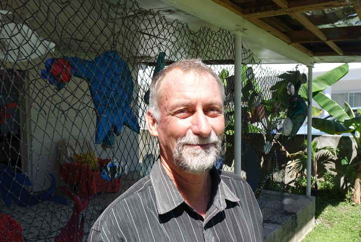 Kelvin Passfield of Te Ipukarea Society. Photo: RNZ/ Sally Round