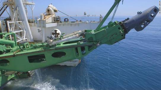 Diamond mining moves offshore and into the deep.